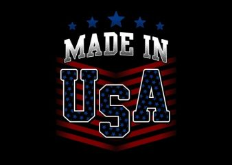 Made In USA buy t shirt design