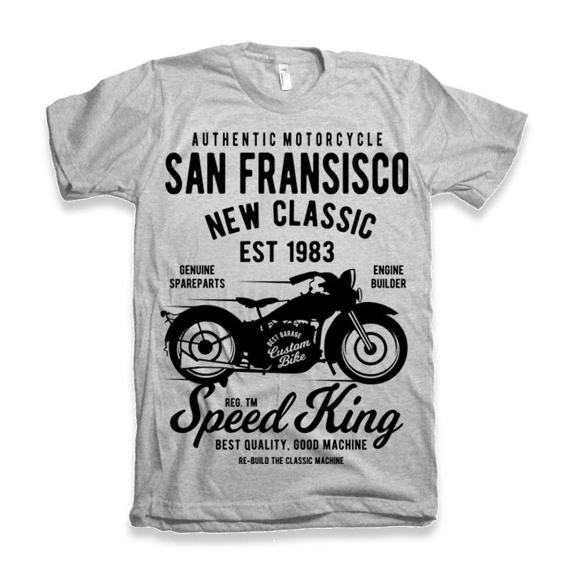 San Fransisco Motorcycle t shirt designs for teespring