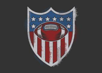 Sport Badge t shirt template vector