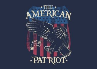 The American Patriot t shirt designs for sale