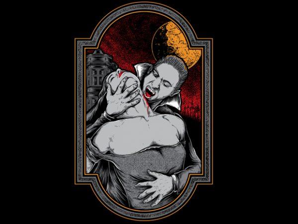 mr dracula t shirt designs for sale