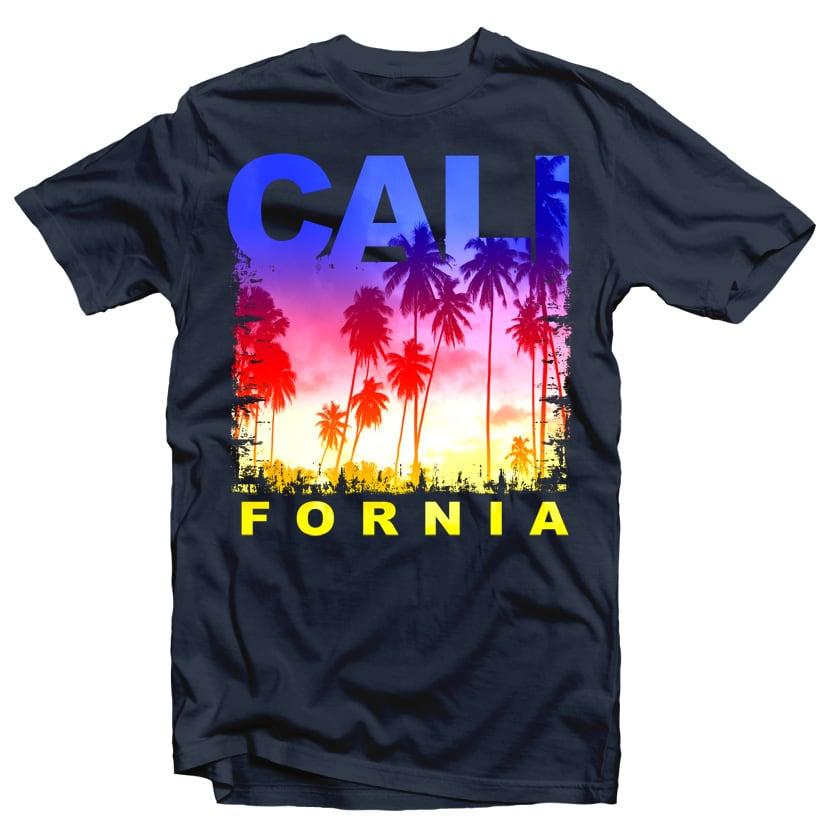 California vector shirt designs