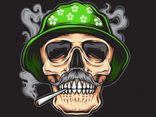 smoky t shirt template vector