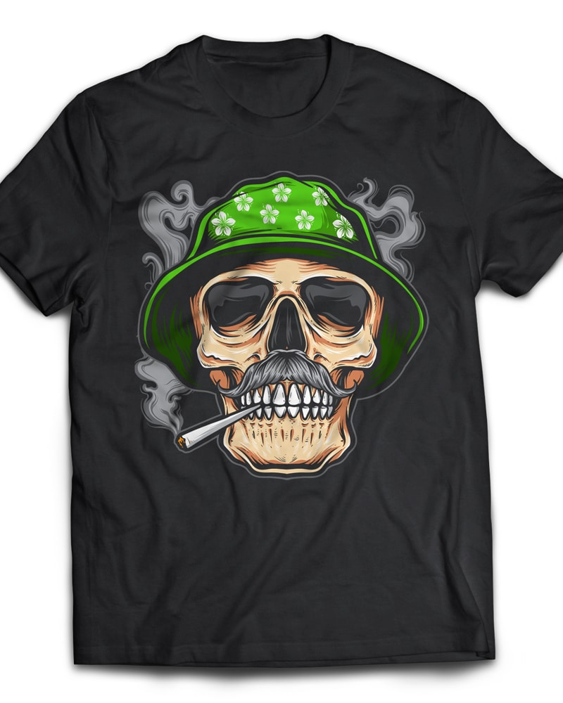 smoky t-shirt designs for merch by amazon