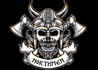 Viking Badge t shirt vector art