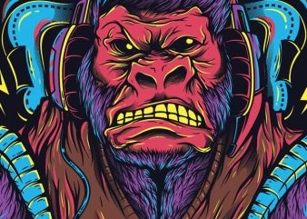 Gorilla Games t shirt design template