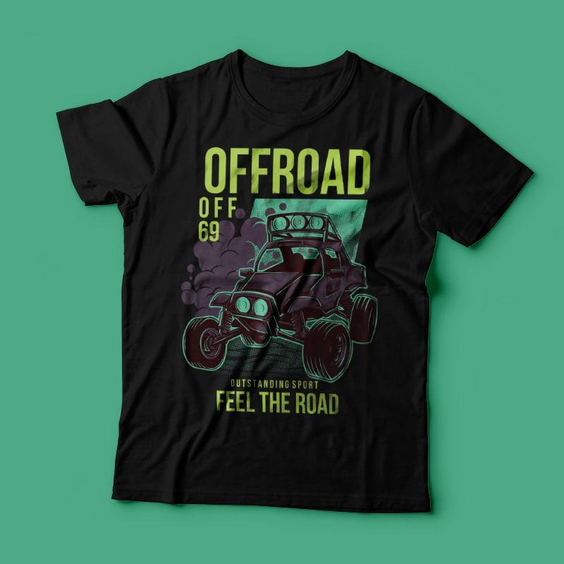 Feel the Road tshirt-factory.com