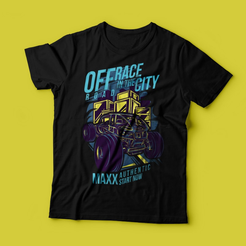 Race in the City tshirt-factory.com