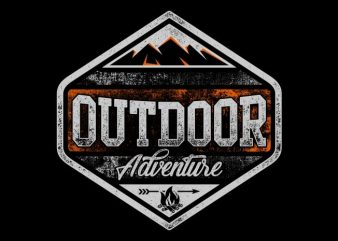 Outdoor Adventure t shirt design to buy