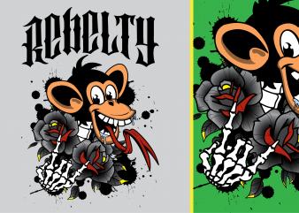 Rebelty Tshirt Design