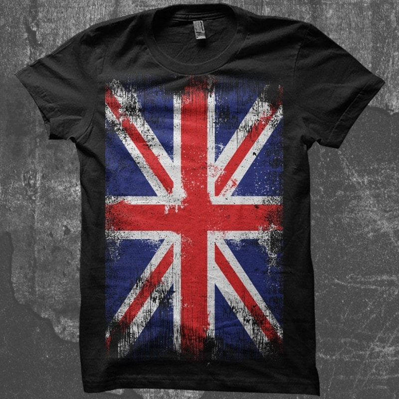The Flag UK t shirt designs for teespring