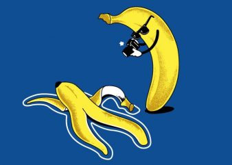 Banana Murder vector t-shirt design