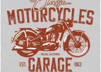 Motorcycle t shirt design png