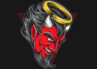 Red Devil buy t shirt design
