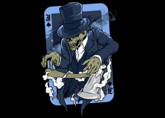 jack the ripper vector t-shirt design for commercial use