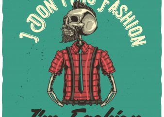 Fashion buy t shirt design for commercial use