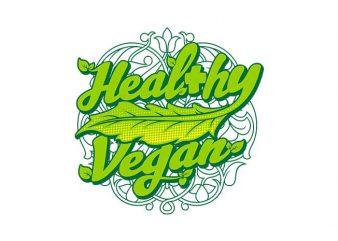healthy vegan graphic t shirt