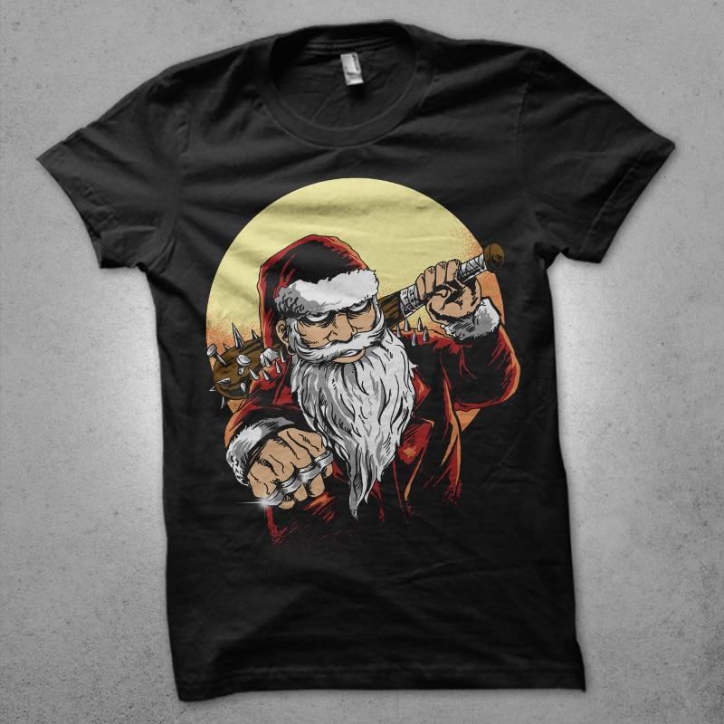 bad santa buy t shirt designs artwork