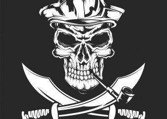 Pirate sign design for t shirt