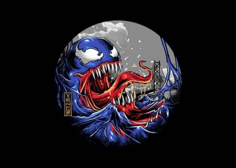 the great symbiotes shirt design png