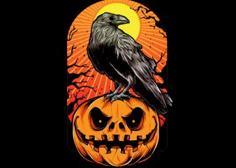 Crow Halloween buy t shirt design