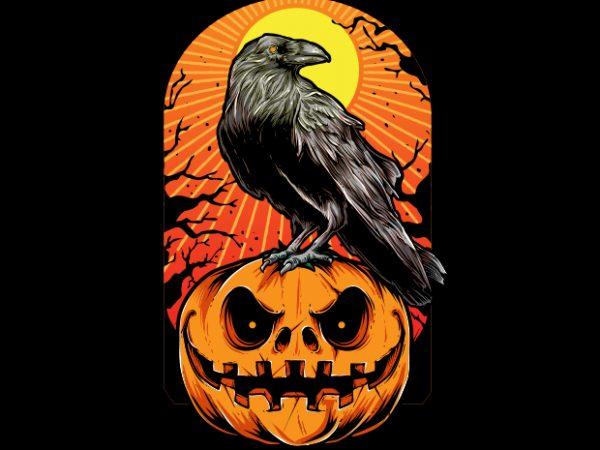Crow Halloween buy t shirt design