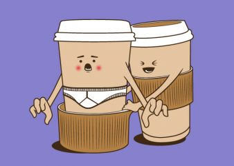 Coffee Joke vector t shirt design artwork