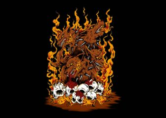 wrath of carberus t shirt design to buy