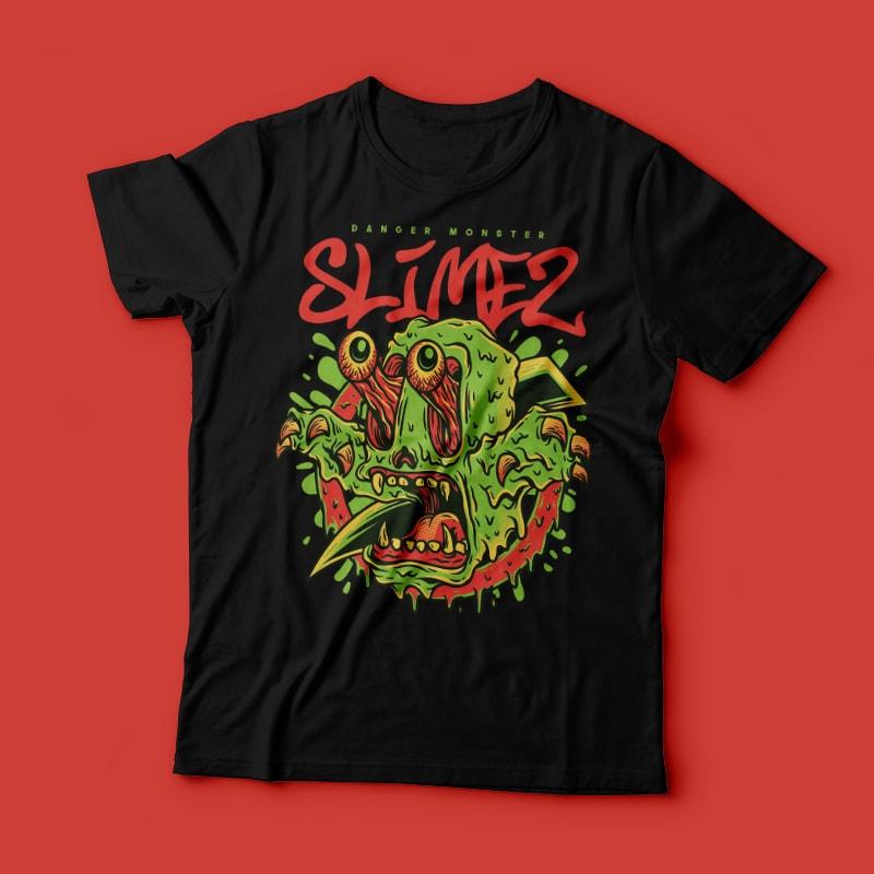 Slimez buy t shirt designs artwork