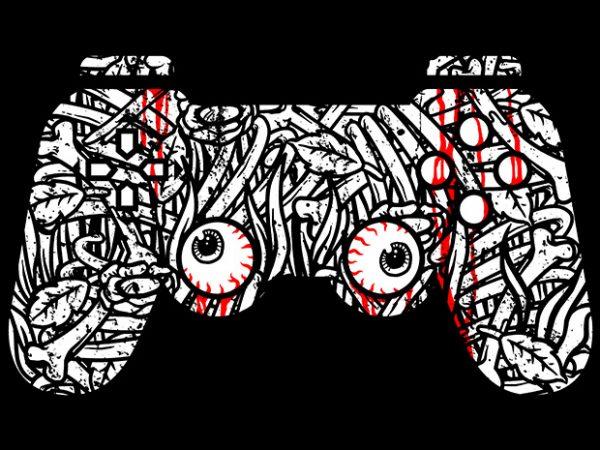 Bone Controller t shirt design png