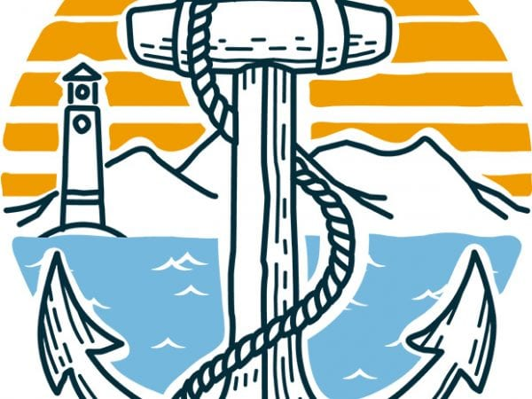 Anchor Point t shirt design to buy