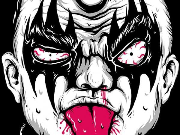 Kid Rock shirt design png
