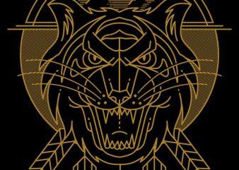 Tiger Killer t shirt designs for sale