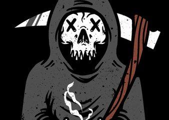 Coffee Reaper graphic t-shirt design