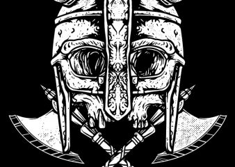 Death Viking buy t shirt design for commercial use