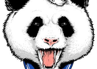 Panda Sailor buy t shirt design
