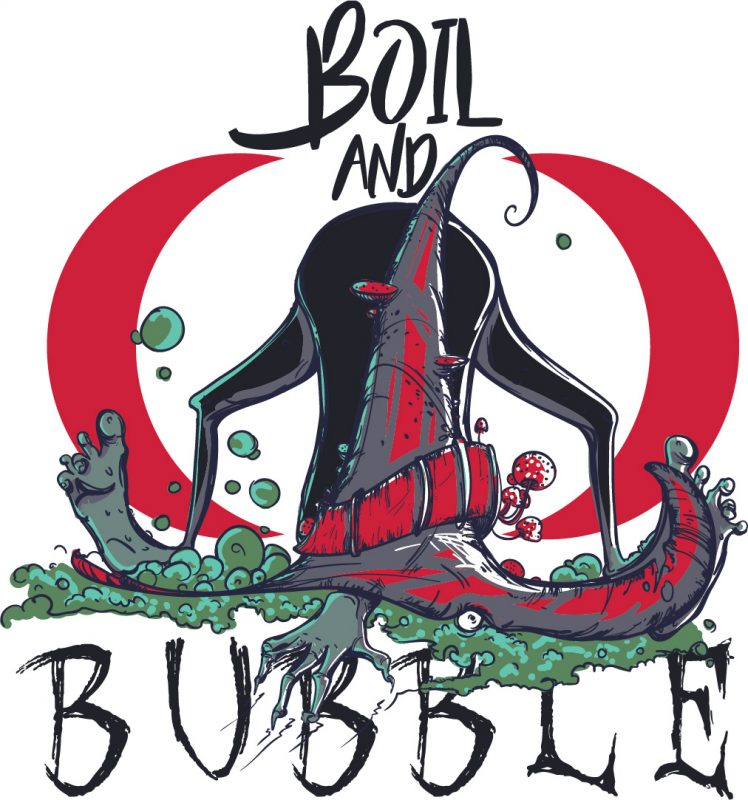 Boil and bubble t shirt designs for printify