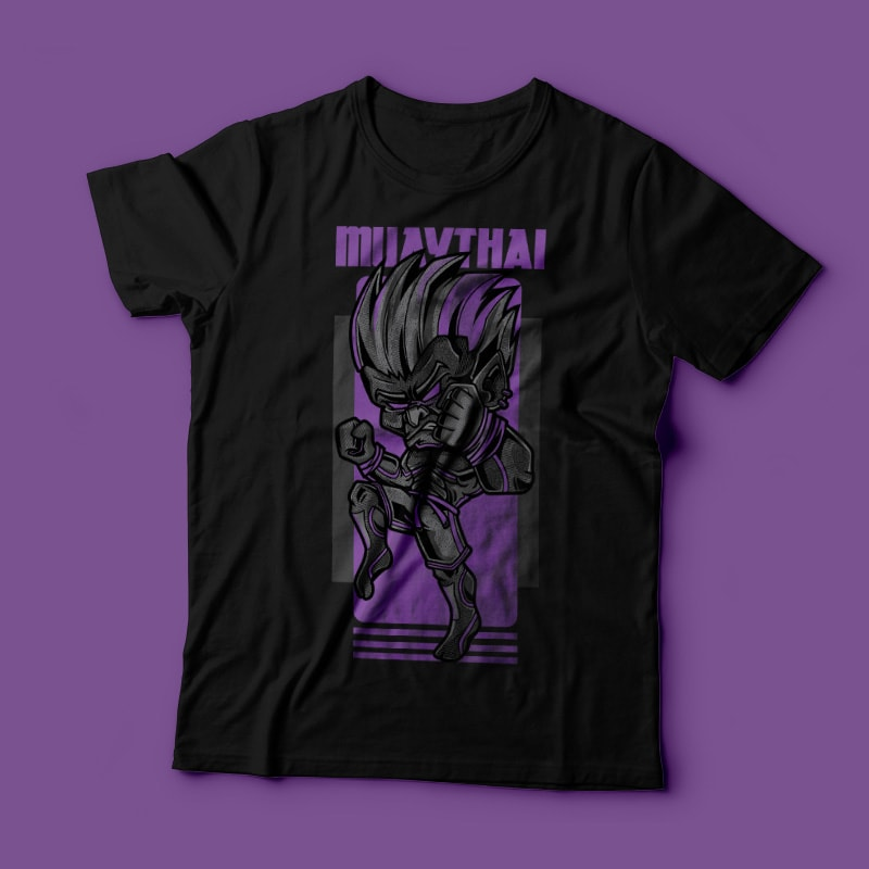 Muay Thai t shirt designs for teespring