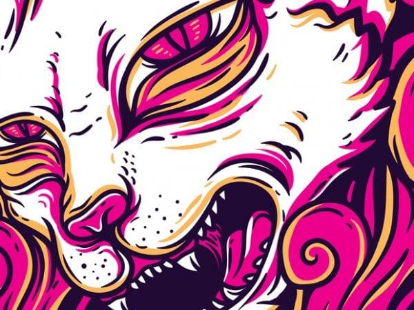 Kittyz t shirt vector art