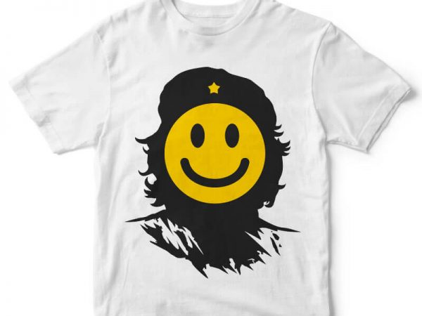 Che Smile tshirt design