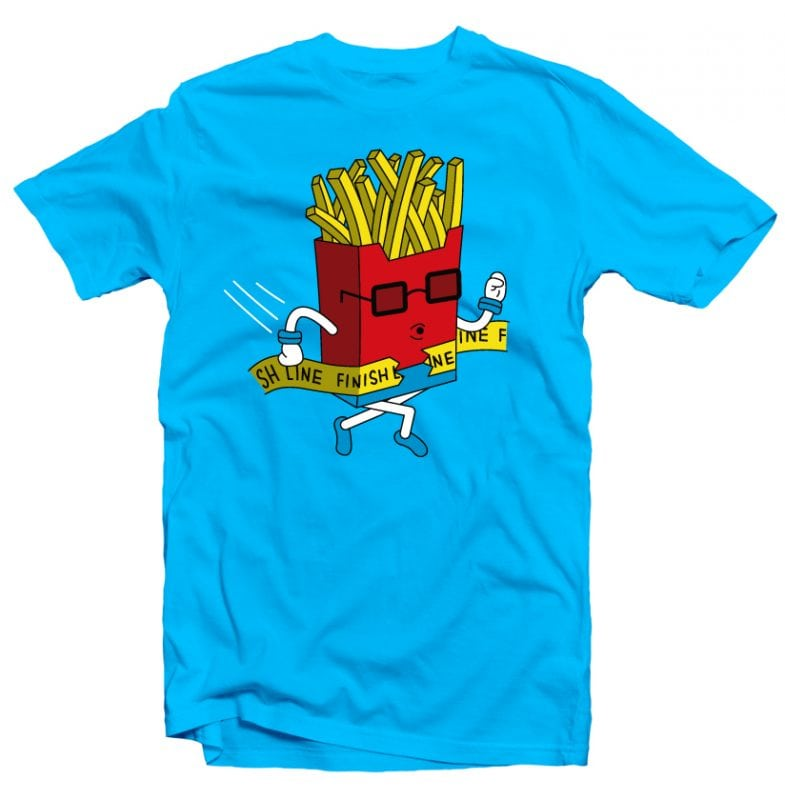 Fast Food t shirt design png