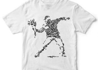 Flourish Vandalism t-shirt design