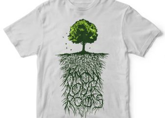 Know Your Roots tshirt design