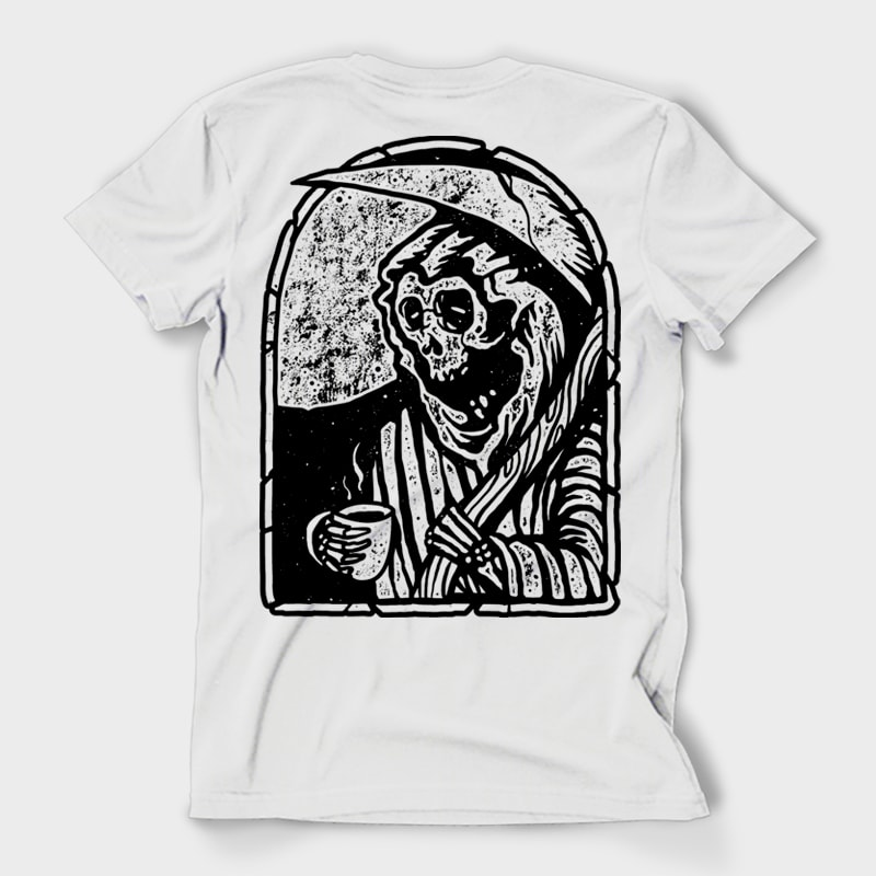 Death before Decaf t shirt designs for merch teespring and printful