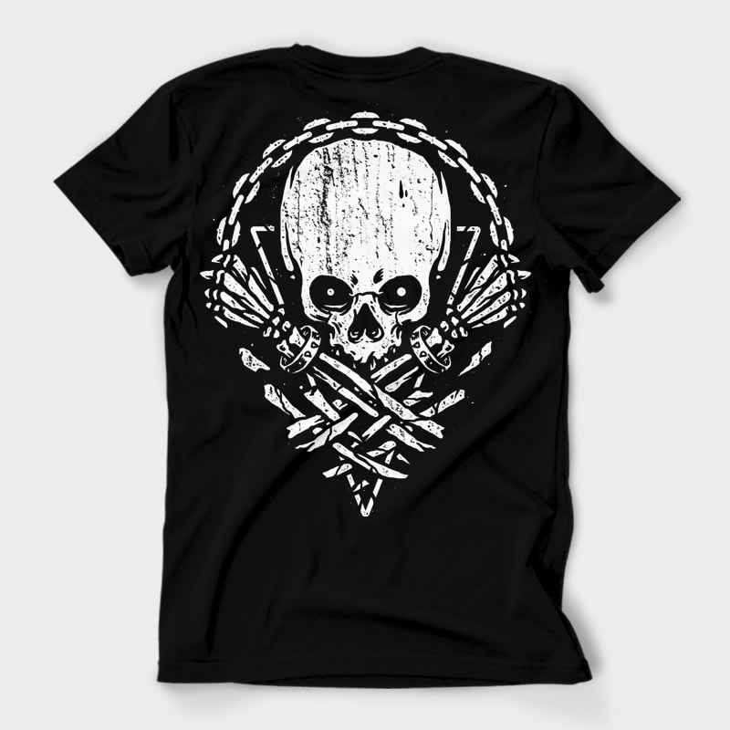 Death by Squence t shirt designs for merch teespring and printful