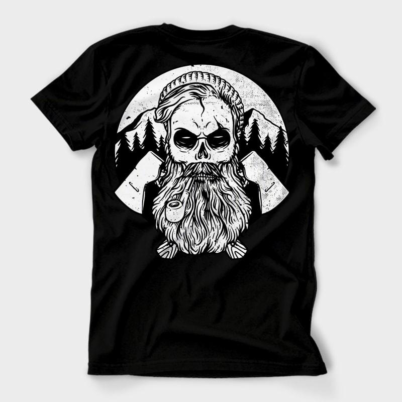 Hardworker t shirt designs for printify