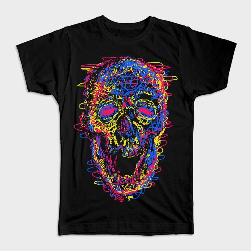 Skull Kid Draw buy t shirt designs artwork