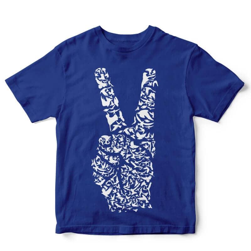 Peace t shirt design buy t shirt design