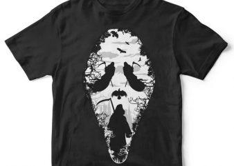 Reaper Scream tshirt design