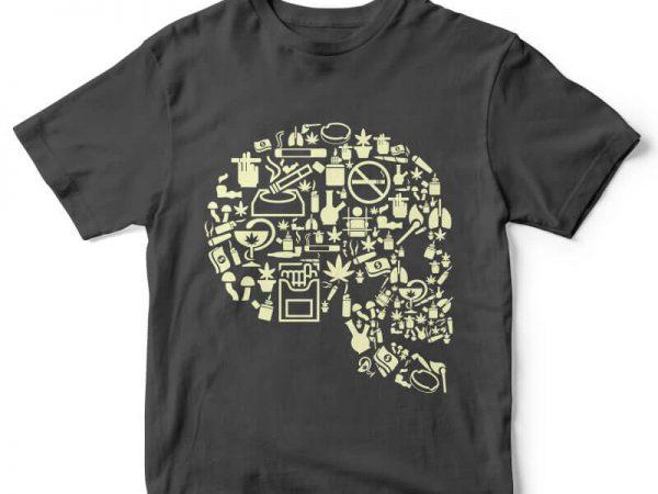Smoking Kills t-shirt design